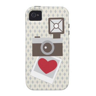 I Love Vintage Camera Vibe iPhone 4 Cover