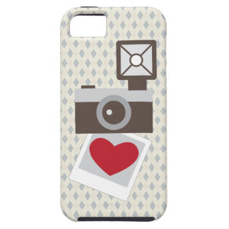 I Love Vintage Camera iPhone 5 Cases