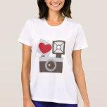I Love Vintage Camera Tshirts