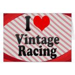 I love Vintage Racing Card