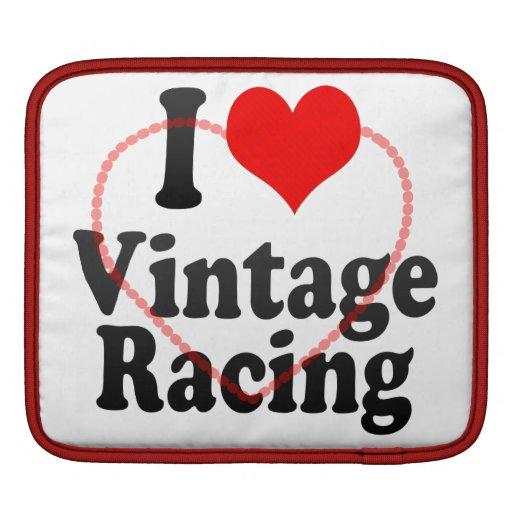 I love Vintage Racing iPad Sleeves