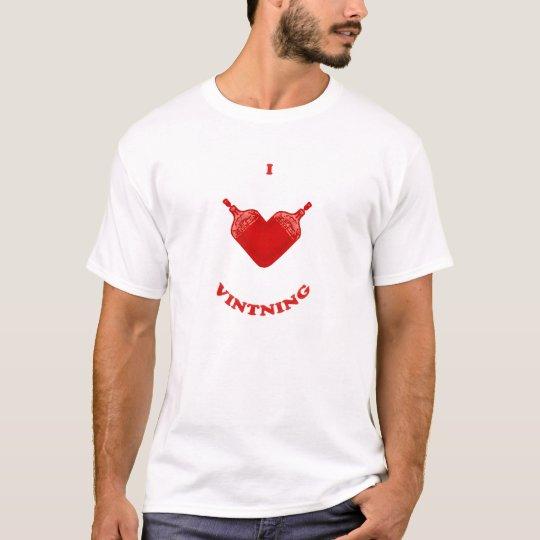 I Love Vintning T-Shirt