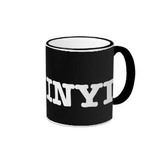 i love vinyl2 ringer coffee mug