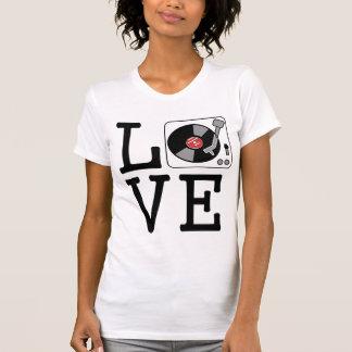 i love vinyl record players t shirt