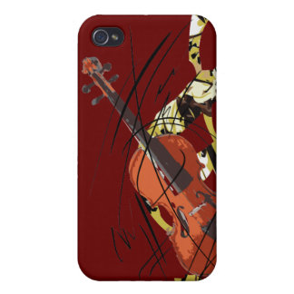 I Love Violin iPhone 4/4S Covers