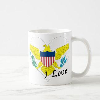 I love Virgin Islands Coffee Mug