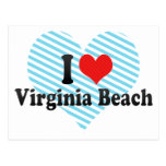 I Love Virginia Beach Postcard