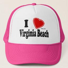 I Love Virginia Beach Trucker Hat