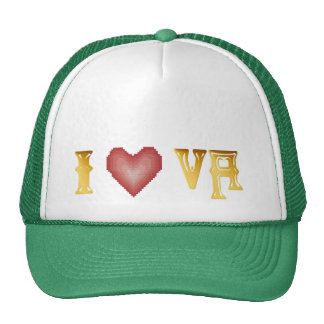 I Love VIRGINIA Hat