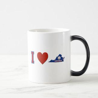 I Love Virginia Magic Mug