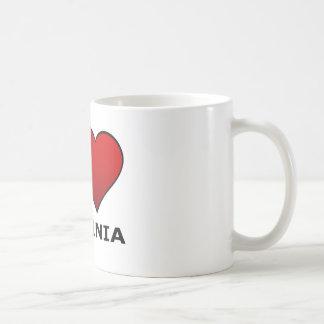 I LOVE VIRGINIA COFFEE MUGS