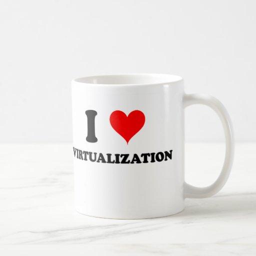 I Love Virtualization Coffee Mug