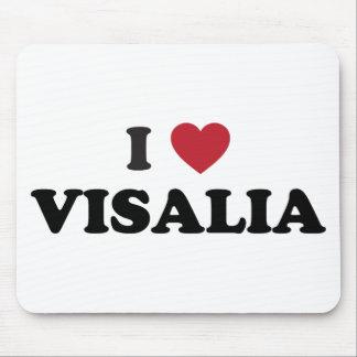I Love Visalia California Mouse Pad