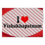 I Love Vishakhapatnam, India Card