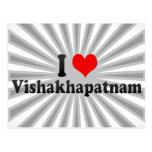 I Love Vishakhapatnam, India Postcard