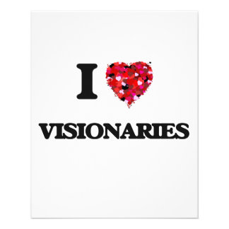 "I love Visionaries 4.5"" X 5.6"" Flyer"