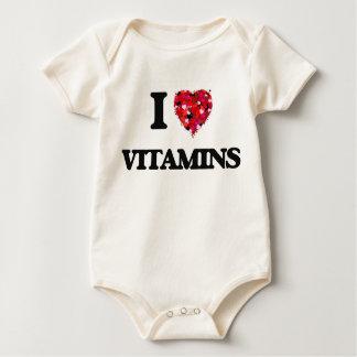 I love Vitamins Baby Creeper