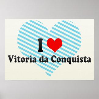 I Love Vitoria da Conquista, Brazil Print