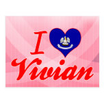 I Love Vivian, Louisiana Post Card