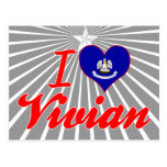 I Love Vivian, Louisiana Post Cards