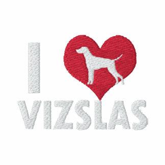 I Love Vizslas Hoodie