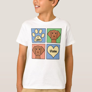 I Love Vizslas T-Shirt