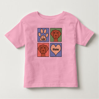 I Love Vizslas Toddler T-shirt