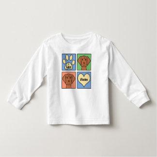 I Love Vizslas Toddler T-shirt
