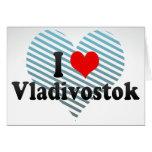 I Love Vladivostok, Russia Card