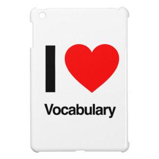 i love vocabulary iPad mini covers
