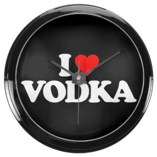I LOVE VODKA AQUAVISTA CLOCKS