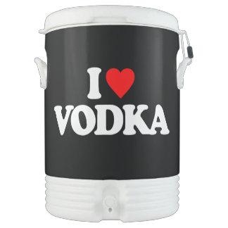 I LOVE VODKA BEVERAGE COOLER