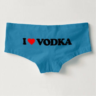 I LOVE VODKA BOYSHORTS