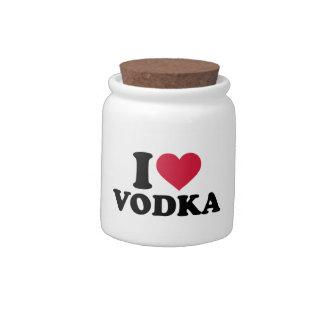 I love vodka candy jars