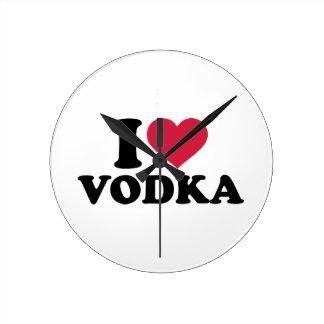 I love vodka clock