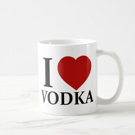 I Love Vodka Coffee Mug