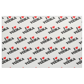 I LOVE VODKA FABRIC