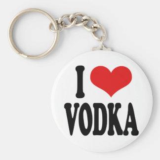 I Love Vodka Keychain
