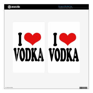 I Love Vodka Kindle Fire Skins