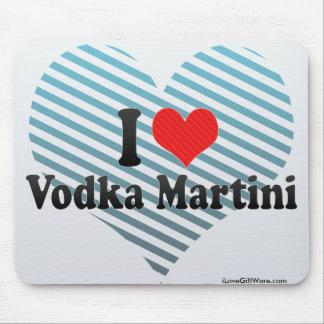 I Love Vodka Martini Mouse Pad