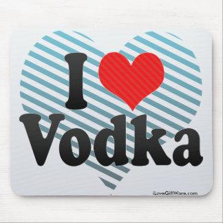 I Love Vodka Mouse Pad
