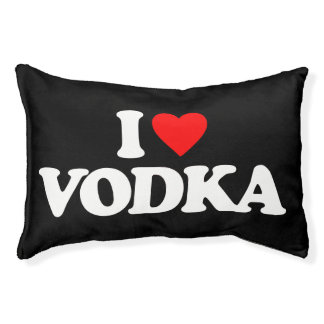 I LOVE VODKA PET BED