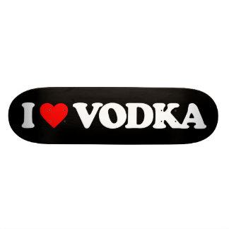 I LOVE VODKA SKATEBOARD