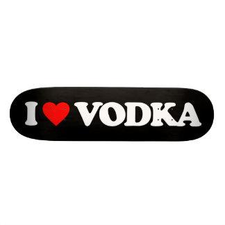 I LOVE VODKA SKATEBOARD DECK