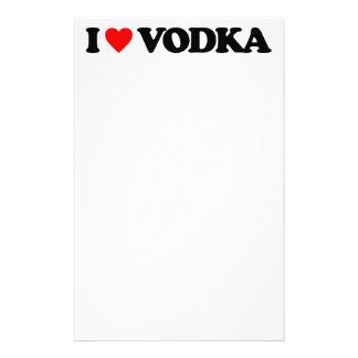 I LOVE VODKA STATIONERY