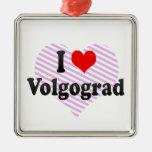 I Love Volgograd, Russia Ornament