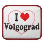 I Love Volgograd, Russia Sleeve For iPads