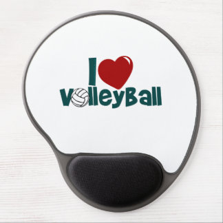 I Love Volleball Gel Mouse Pad