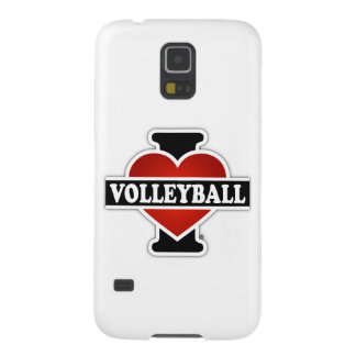 I Love Volleyball Case For Galaxy S5