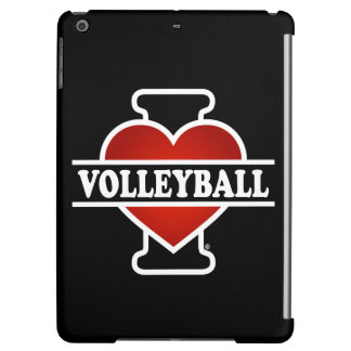 I Love Volleyball Case For iPad Air